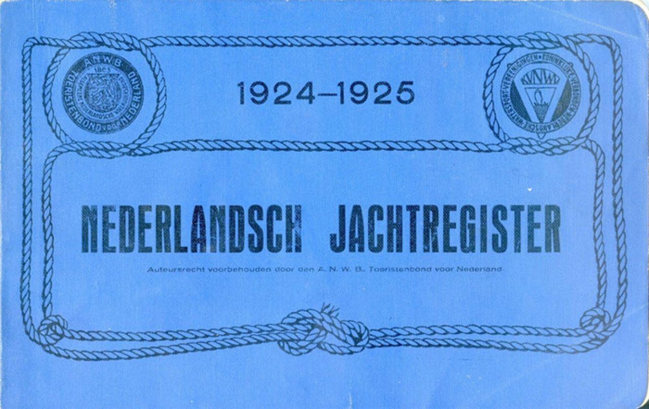 Nederlandsch Jachtregister 1924-1925