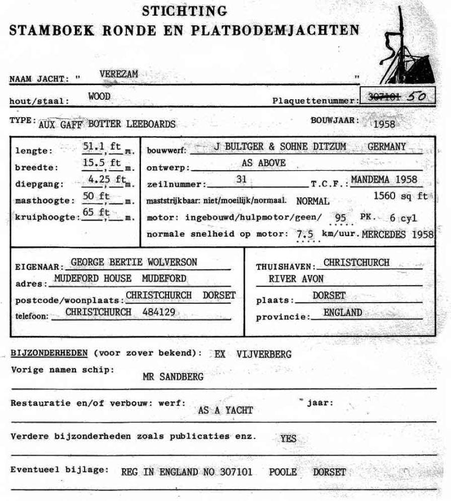 Verezam (ex-Vijverberg) » Stichting Stamboek Ronde en