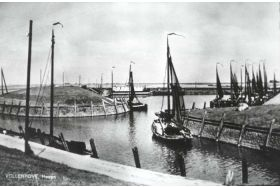 De haven van Vollenhove in 1938