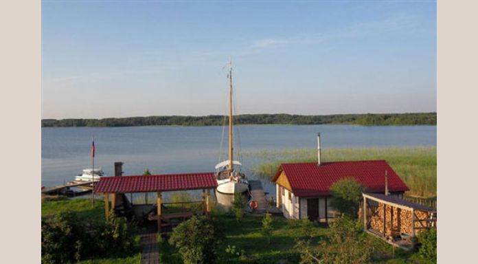View from trerrace if Sennaya Bay Hotel