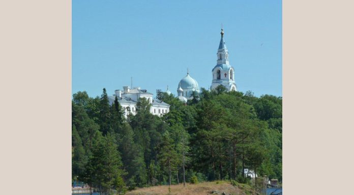 Passing the Valaam Monastery