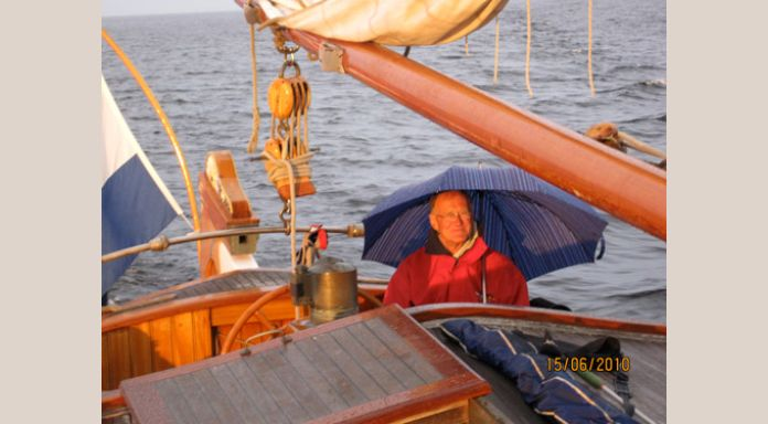 Our captain koos who keeps course in watever horrible weather circumstances